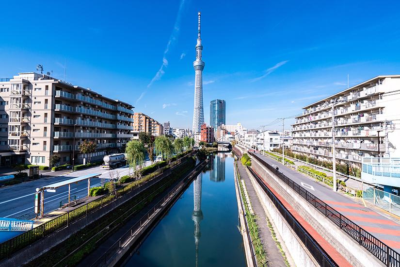 Skytree Tower in Tokio
