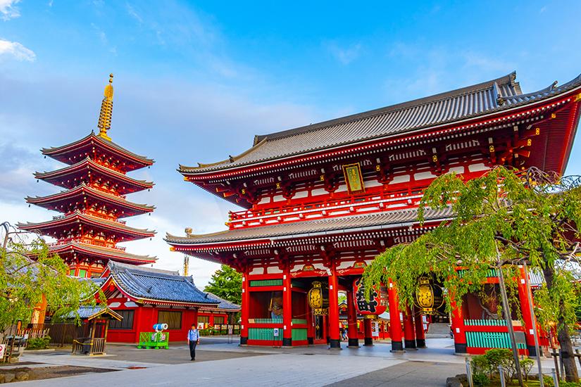 Asakusa-jinja Schrein in Tokio
