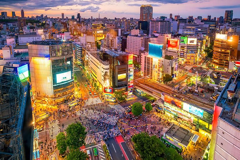 Shibuya in Tokio