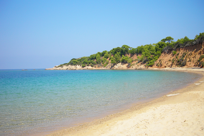Mandraki Beach auf Skiathos
