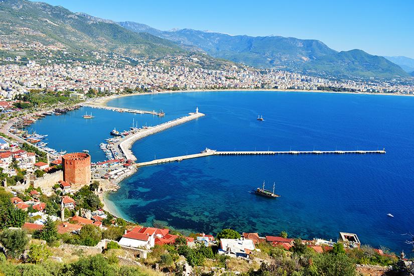 Hafen in Alanya