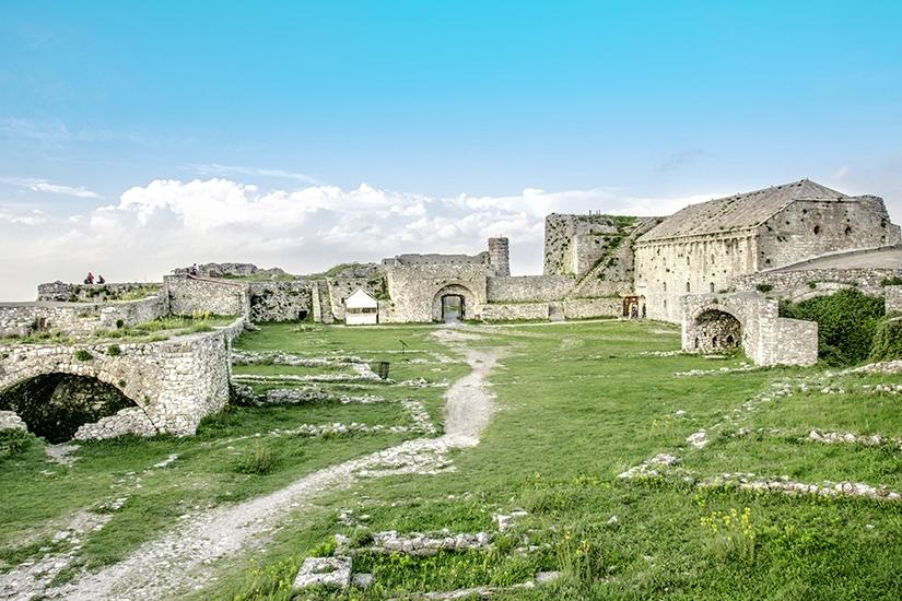 Festung Rozafa in Shkodra