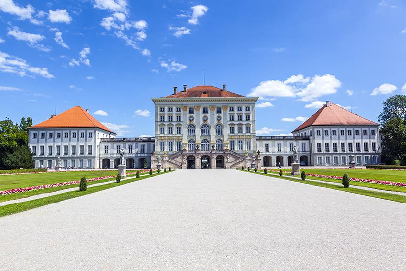 Schloss Nymphenburg aus der Barockzeit