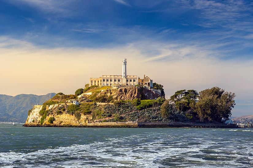 Insel Alcatraz vor San Francisco