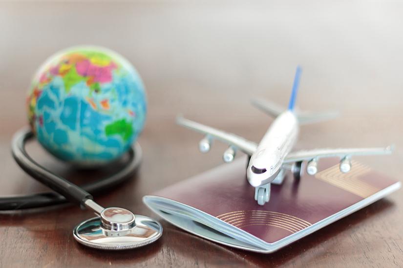 Mit der Auslandskrankenversicherung reisen