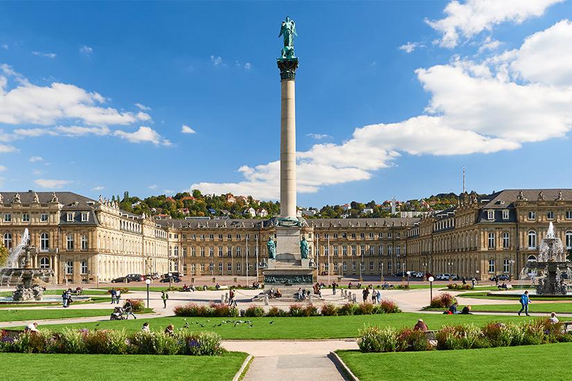 Schlossensemble am Schlossplatz