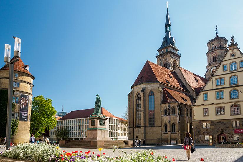 Stiftskirche im Stuttgarter Zentrum