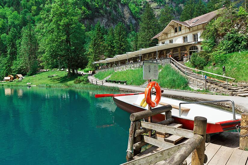 Bootsausflug auf dem Blausee