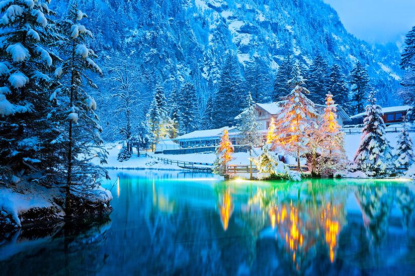 Winterzeit am Blausee