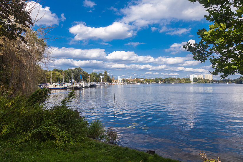 Templiner See in Potsdam