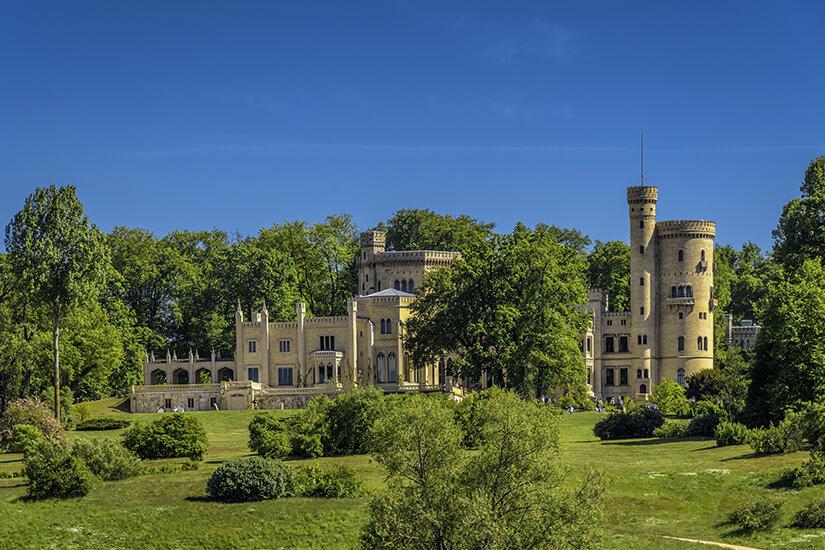 Schloss Babelsberg an der Havel