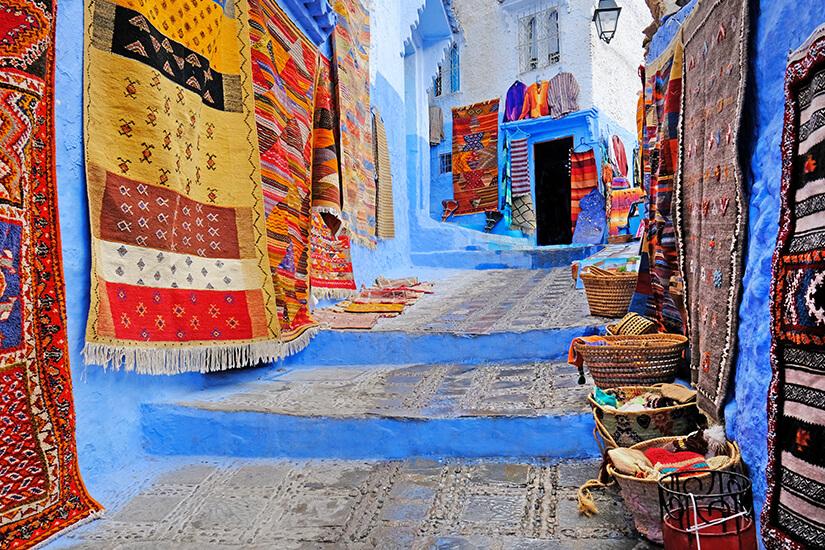 Teppiche Traditionelles Handwerk Marokko