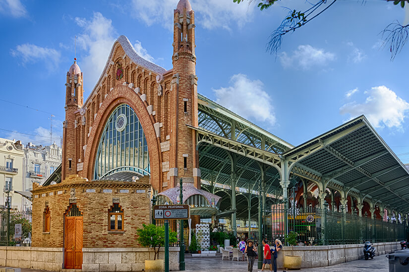 Markthalle mit Tradition in Valencia