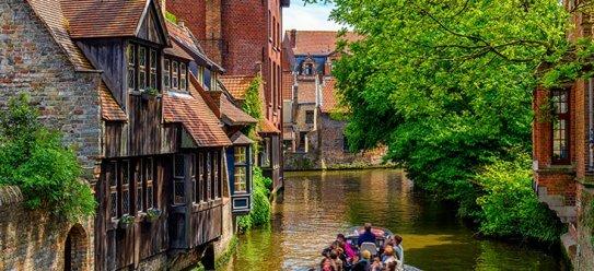 Malerisches Flandern in Belgien