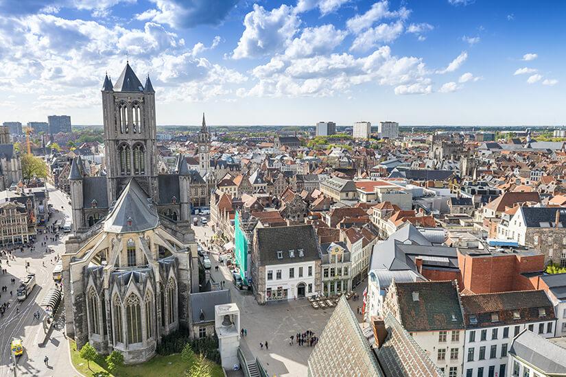 Historische Altstadt von Gent