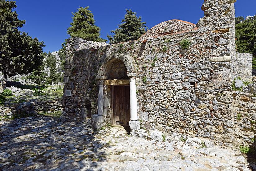 Ruinen von Palio Pyli auf Kos