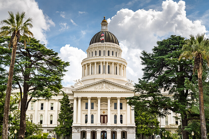 Das California State Capitol in Sacramento