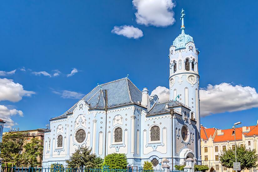 Blaue Kirche in Bratislava