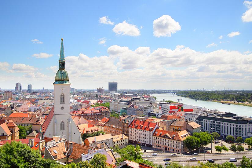 Bratislava im Sommer