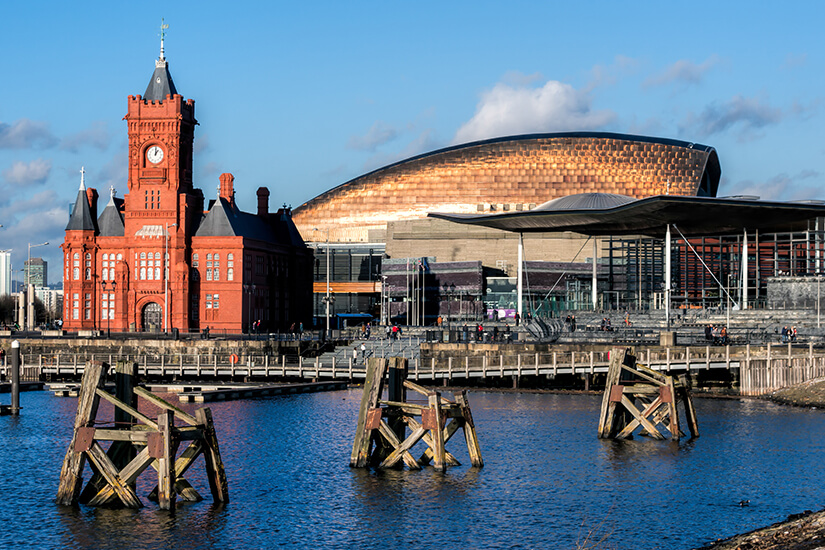 Millenium Centre in Cardiff Bay
