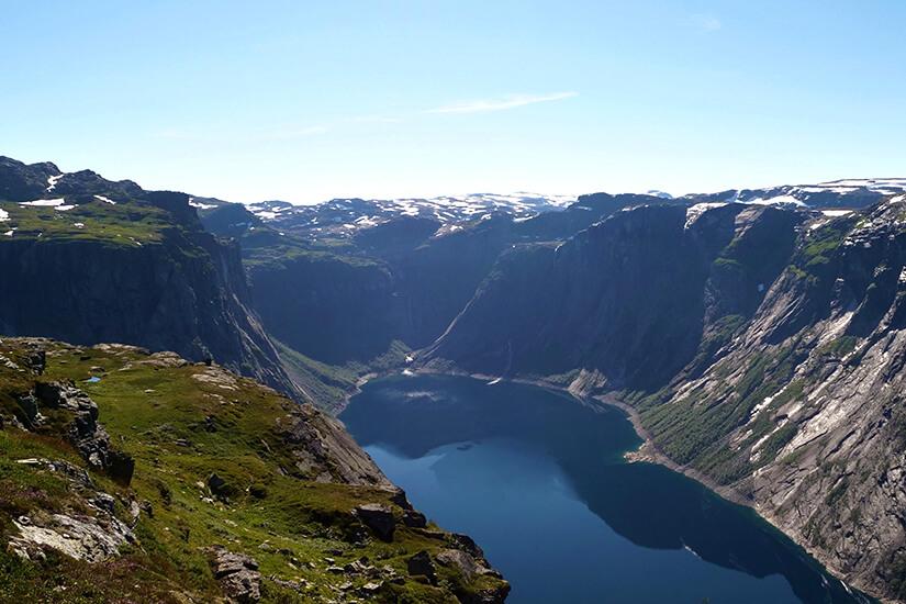 Ringedalsvatnet-See in Norwegen