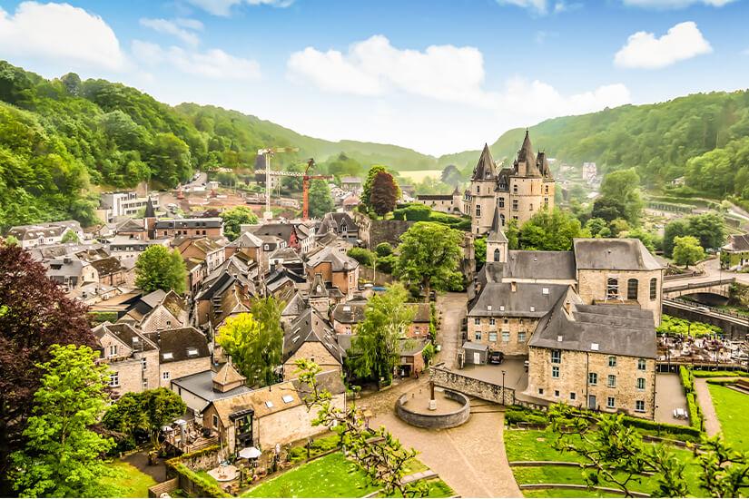Historisches Durbuy in Belgien