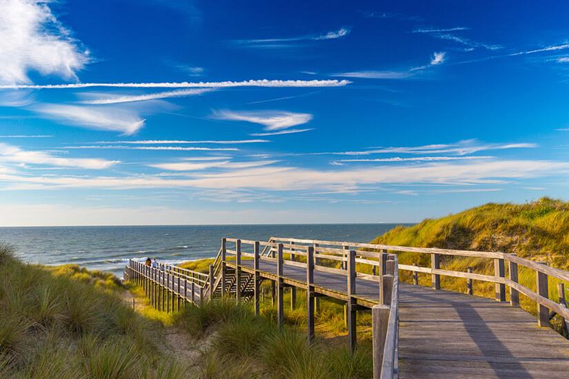 Malerische Nordseekueste Belgien