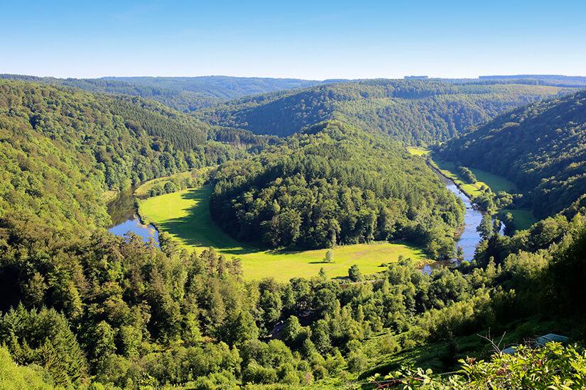 Fluss Semois, Ardennen