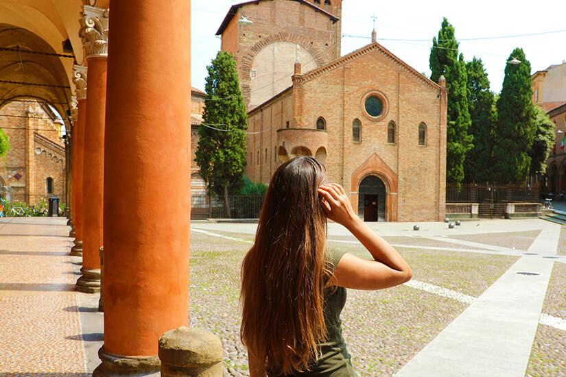 Unterwegs in Bologna