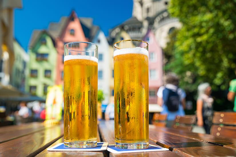 Koelsch trinken in Koeln