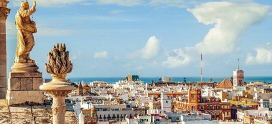 Hafenstadt Cádiz in Spanien entdecken