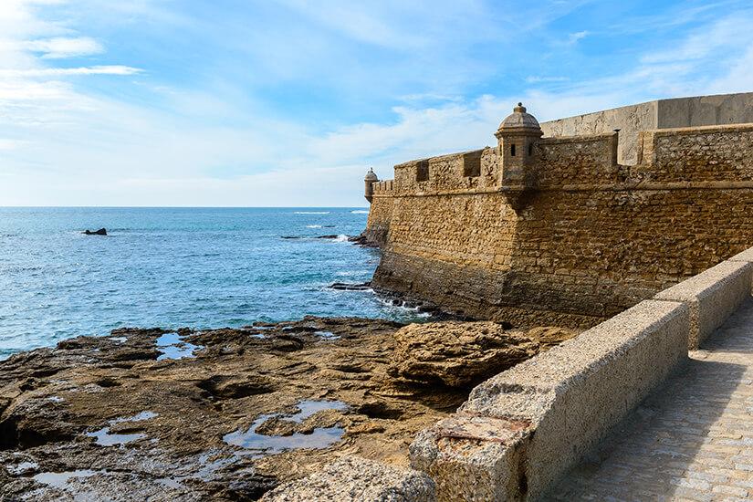 Festung von San Sebastian in Cadiz