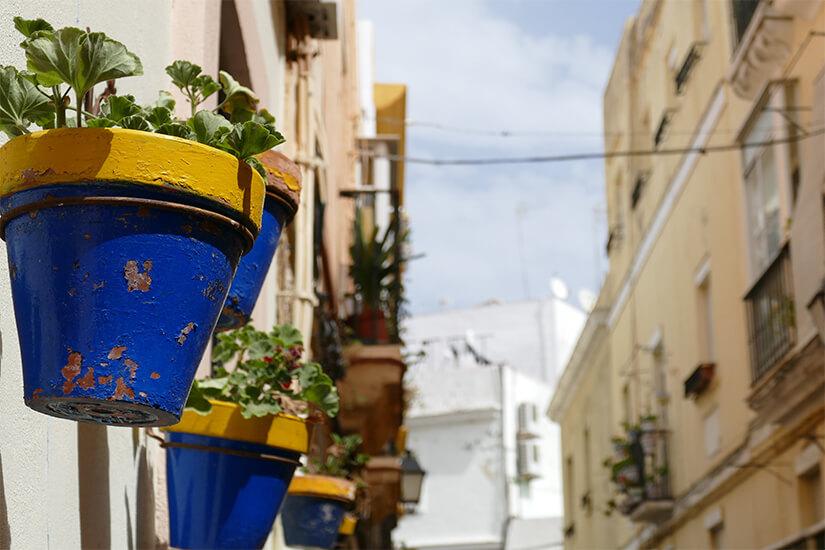 Gassen von Cadiz