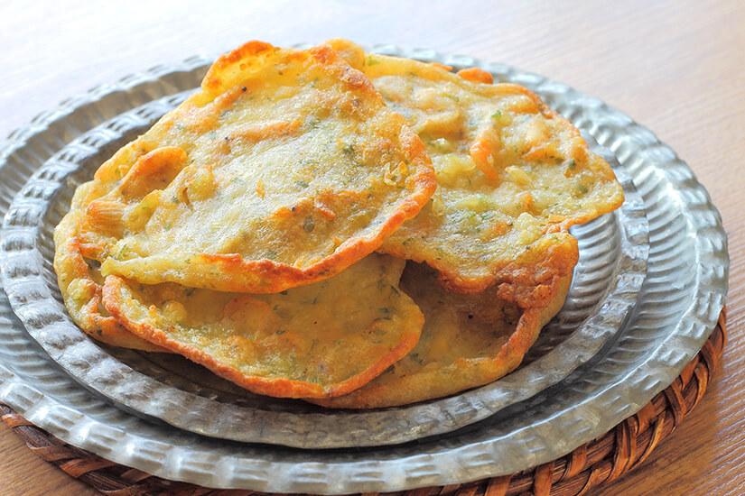 Tortillas mit Garnelen