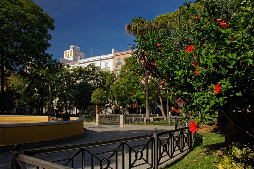 Plaza de Mina in Cadiz