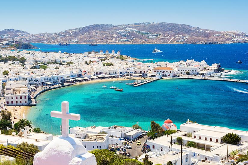 Insel Mykonos in Griechenland