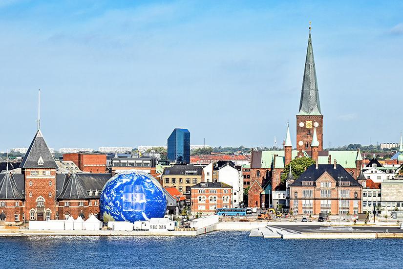 Stadtansicht von Aarhus