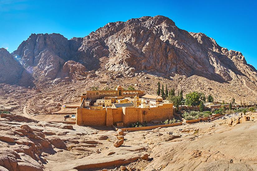 Katharinenkloster im Sinai-Gebirge