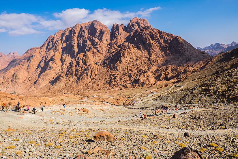 Berg Sinai in Aegypten