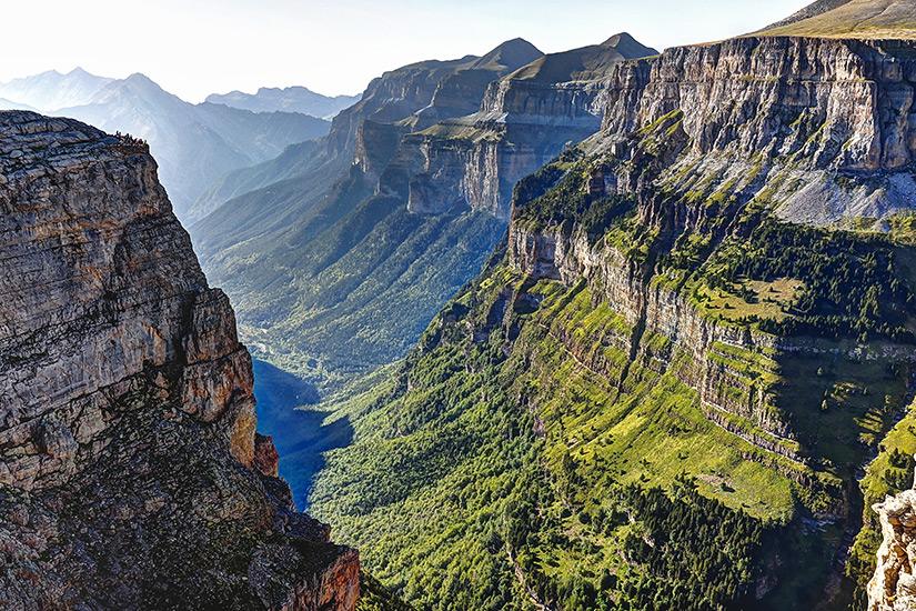 Valle de Ordesa in den spanischen Pyrenaeen