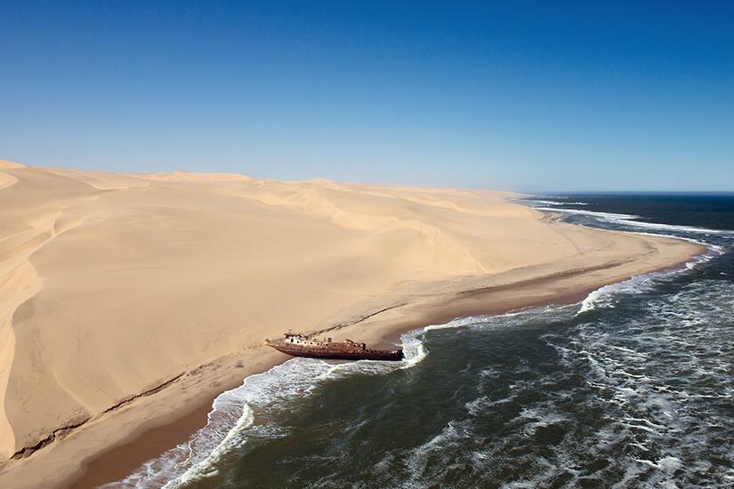 Skelettkueste in Namibia