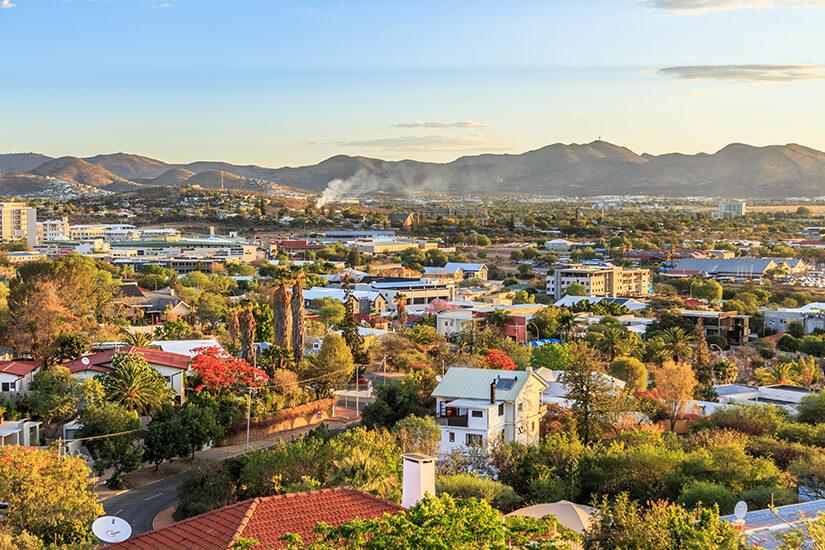 Namibias Hauptstadt Windhoek
