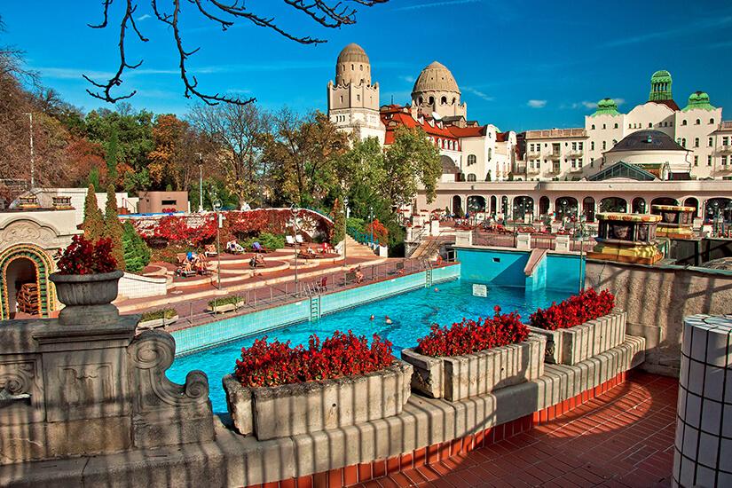 Historisches Gellert Bad in Budapest