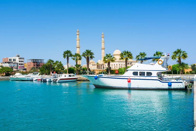 Yachthafen von Hurghada