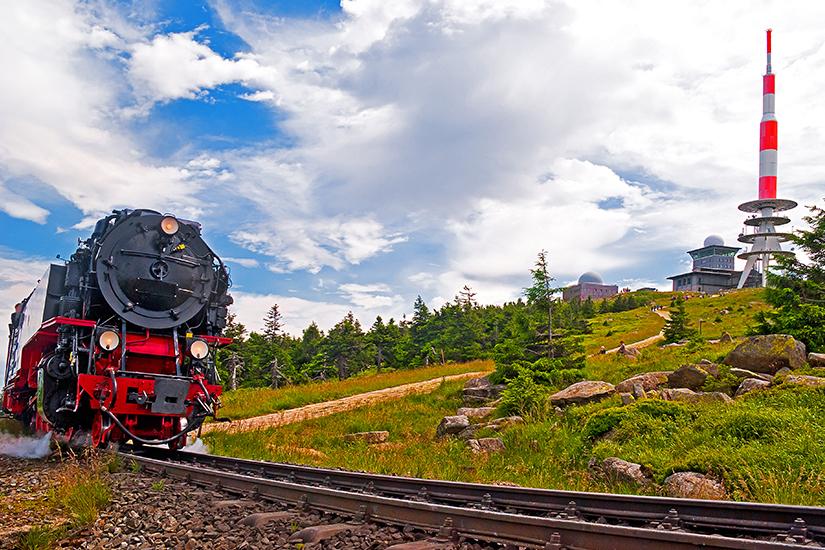 Brockenbahn im Harz