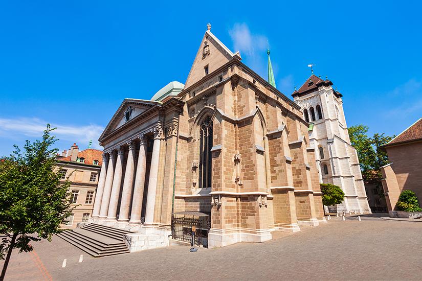 St. Pierre Kathedrale in Genf