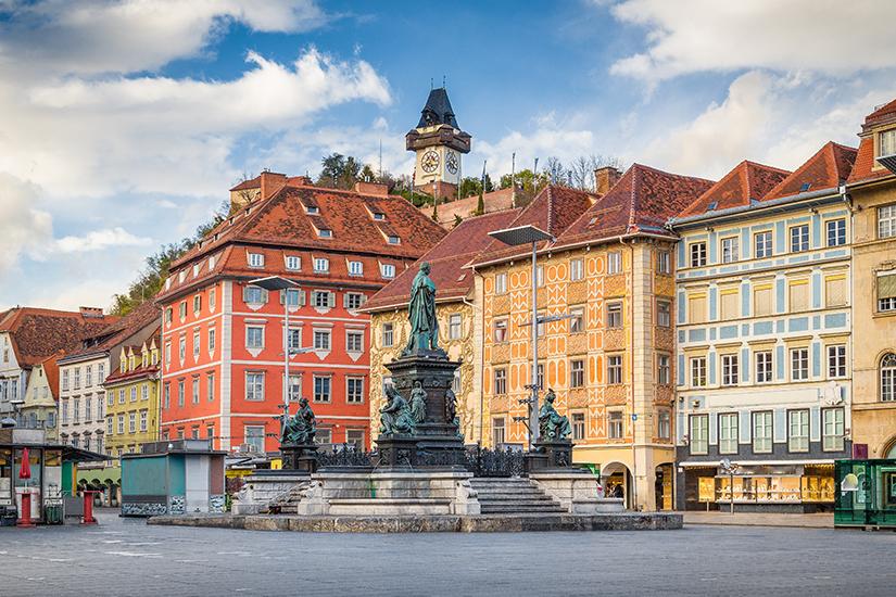 Hauptplatz von Graz