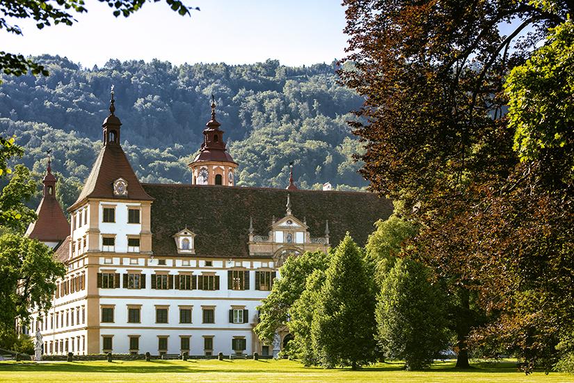 Schloss Eggenberg mit Parkanlage