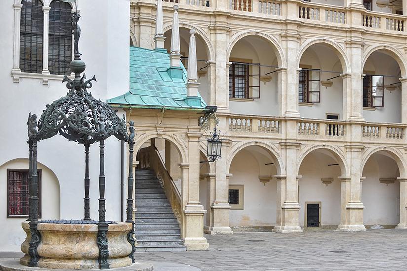 Innenhof des Grazer Landeszeughaus