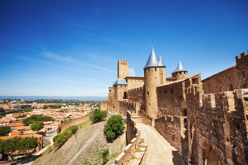 Festungsstadt Cite de Carcassonne